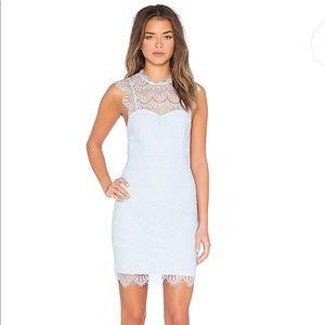 Bardot Braxton Lace Mini Dress (REVOLVE) - Size 8